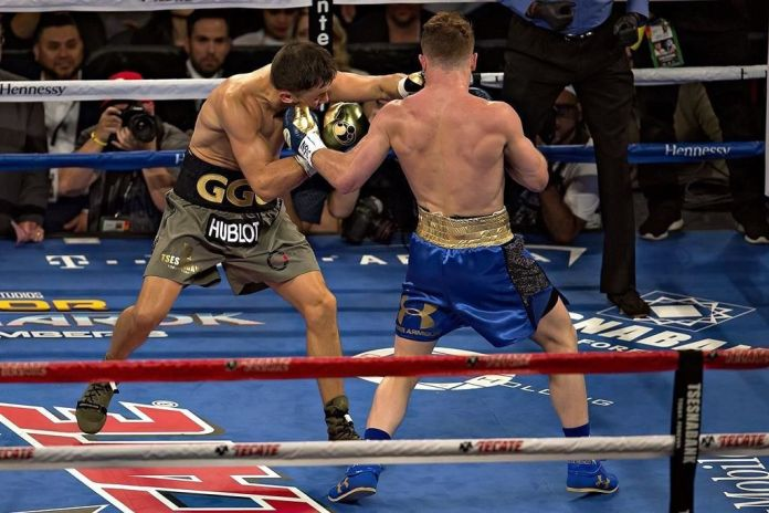 Repetición Canelo vs GGG