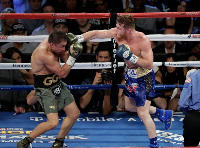 Repetición Canelo vs Golovkin