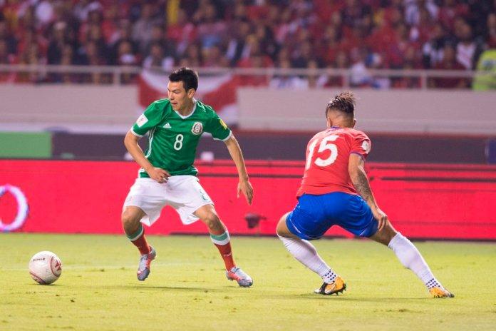 Goles de México vs Costa Rica 2017