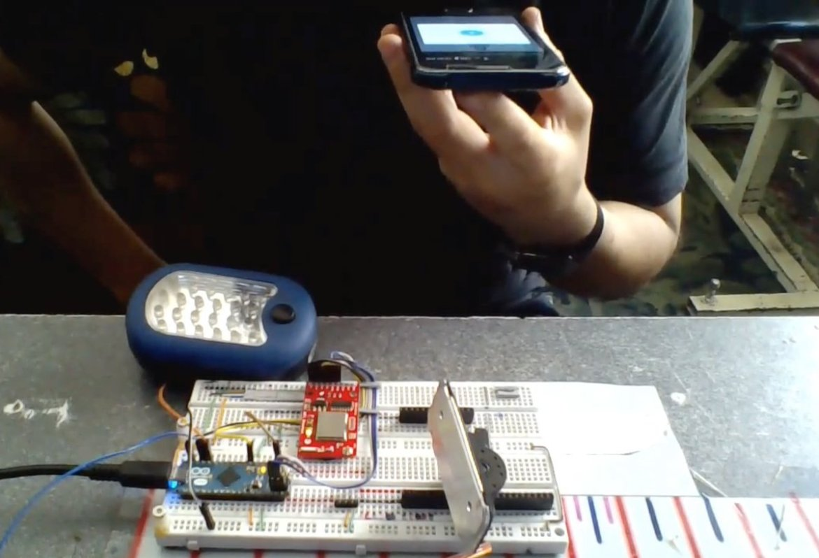 Android IoT voice recognition with Arduino: