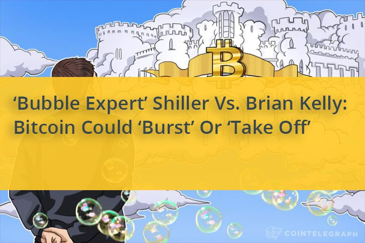 #Bitcoin enthusiasm 'out of proportion': #bubble economist Shiller @CNBCFastMoney