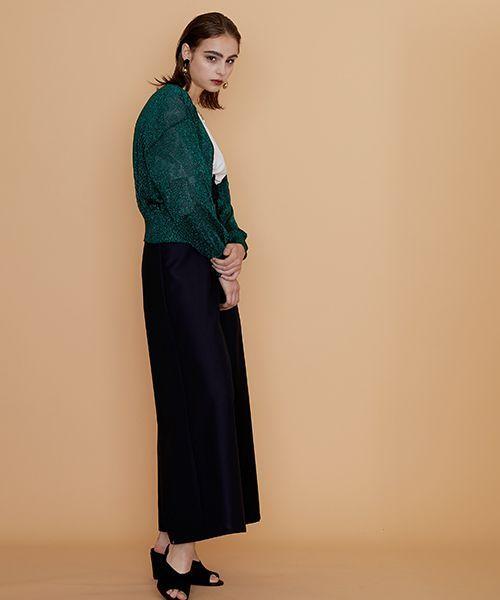 test ツイッターメディア - 【新作商品情報】『セシルのもくろみ』最終回で板谷由夏さんが着用しております。子どもっぽくなりがちなキャッチーなグリッターラメ素材ですが、丸みを帯びたコクーンシルエットやVネックで大人っぽく、こなれた印象に仕上げています。https://t.co/gJWS1DI0ay https://t.co/Gxm83whbBo