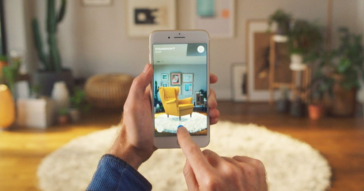 IKEA's Place app for iOS previews furniture in your home