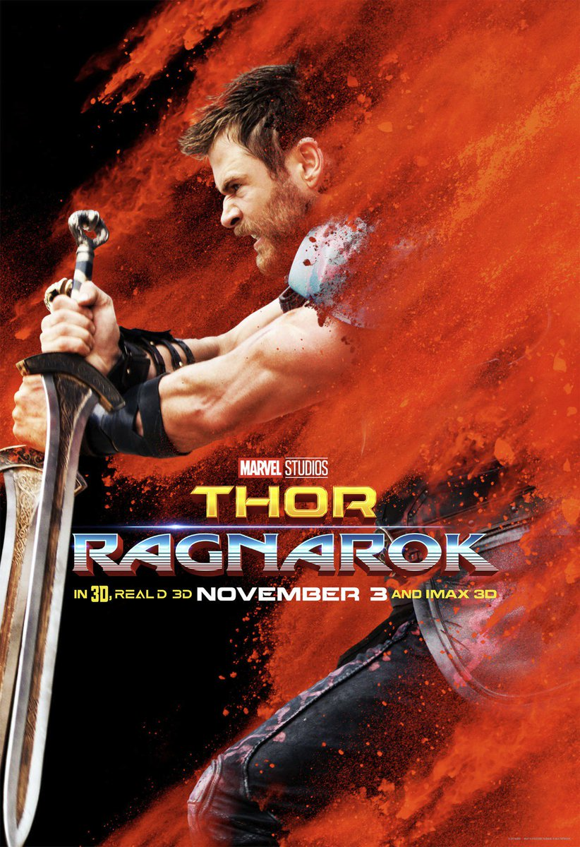 Thor: Ragnarok Character Posters Unveiled