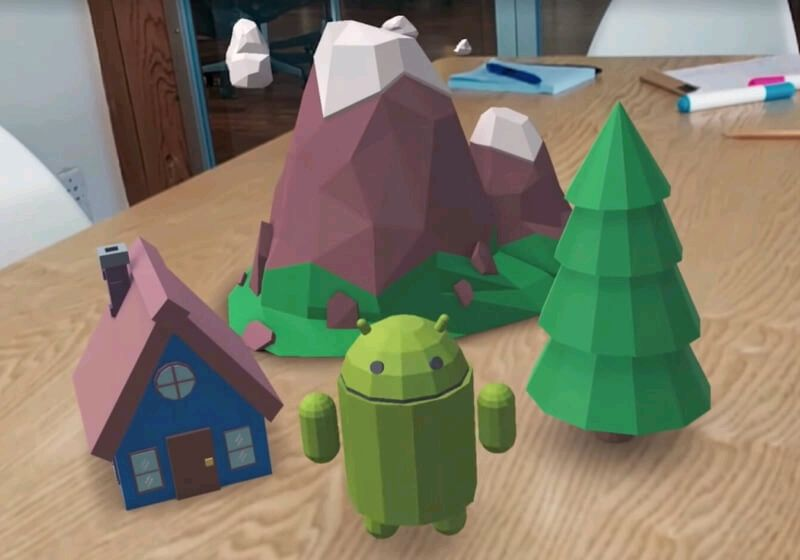 Google shows off #ARCore functionality with a series of GIFs  #ar #AugmentedReality