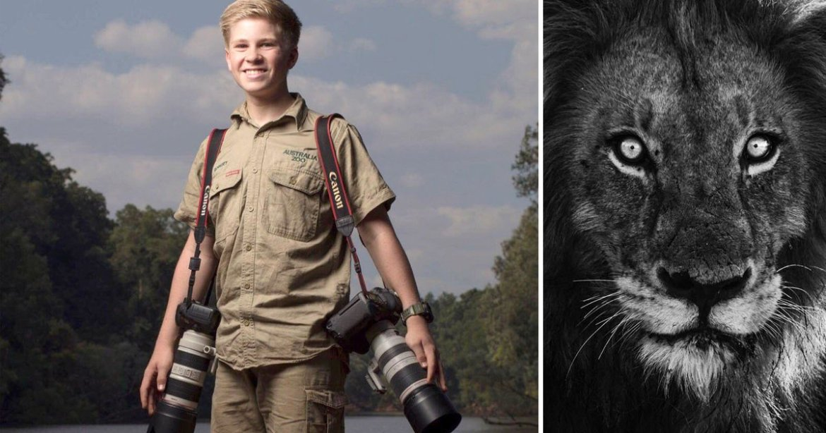 Steve Irwin's 13-year-old son is quite a photographer: