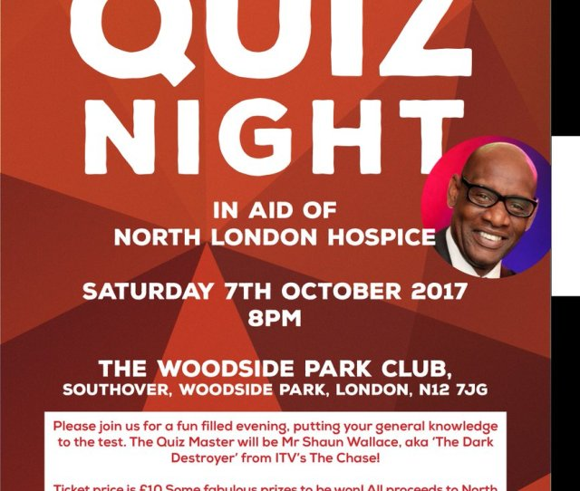 The Archer On Twitter A Chance To Pit Your Wits Against A Quiz Show Nemesis In Aid Of Nlondonhospice