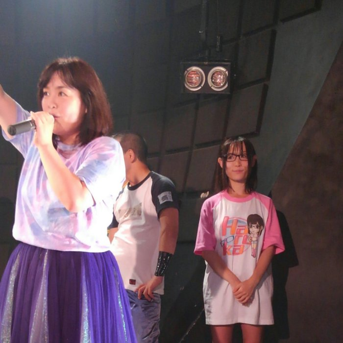 test ツイッターメディア - 我闘雲舞に初参戦した加藤悠の妹HARUKAZEの第7戦がいよいよ明日に!久々にHARUKAZE横断幕出します #ガンプロ https://t.co/GqQuxsPnJc