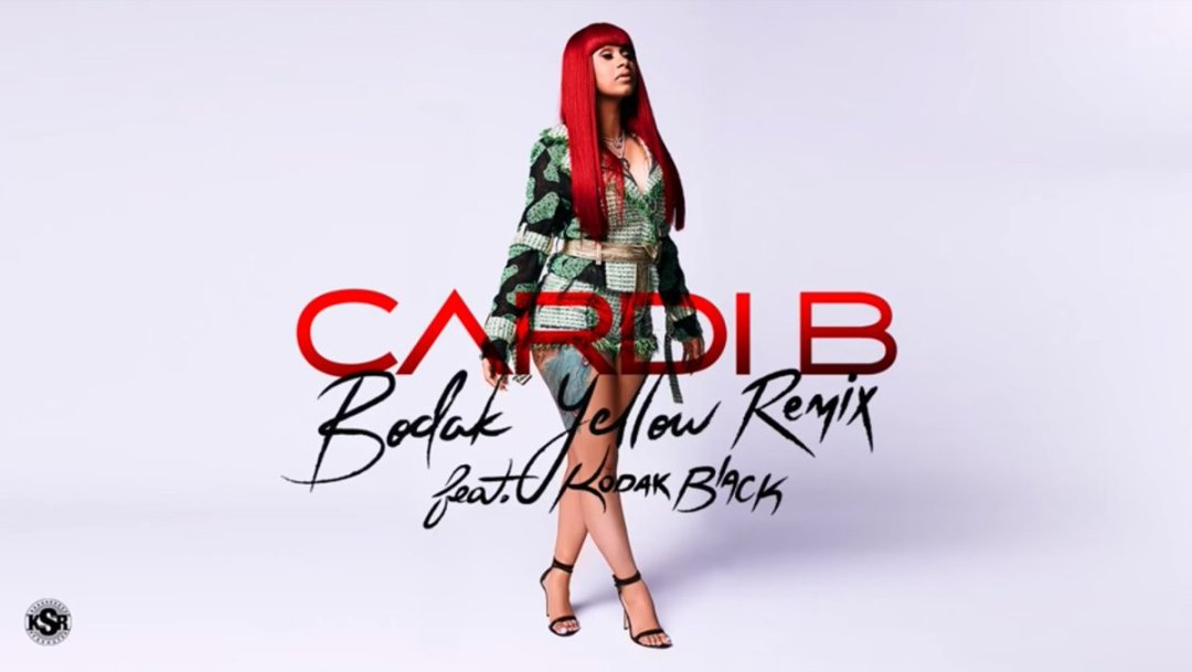 Cardi B – Bodak Yellow Remix Lyrics ft. Kodak Black