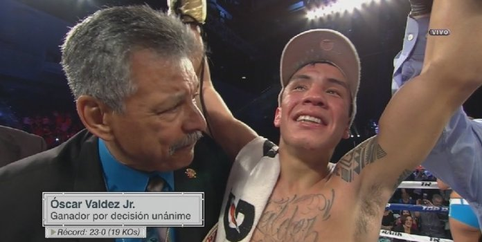 Repetición: Oscar Valdez vs Servania