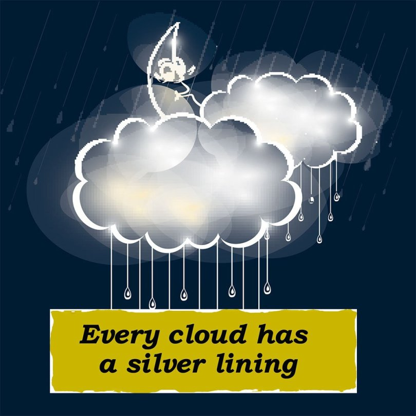 "Speak Up on Twitter: """"Every cloud has a silver lining"" un ..."