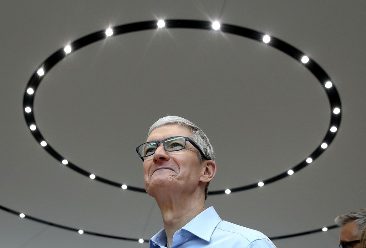 Tim Cook says the tech