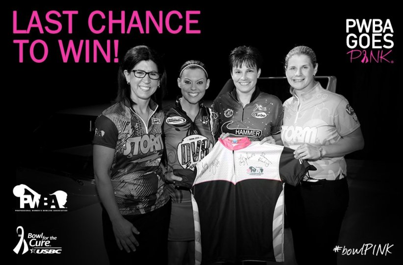 test Twitter Media - TOMORROW the winner of this #PWBAGoesPink signed Jersey will be announced! TO WIN like PWBATour on Facebook & retweet for addt'l entries https://t.co/ZpQ2AKrWbS