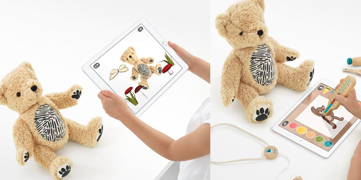 Meet Parker, the Apple Store exclusive augmented reality plushy bear