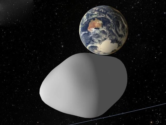 Asteroid flying by Oct. 12 will come closer to Earth than the moon