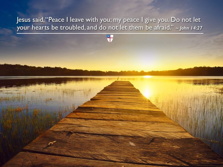 """The Episcopal Church på Twitter: """"Jesus said, """"Peace I leave with ..."""