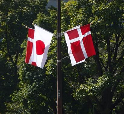 test ツイッターメディア - フレデリック・アンドレ・ヘンリック・クリスチャン・デンマーク王国皇太子殿下及び同妃殿下が、公式実務訪問賓客として日本を訪問中です。 霞が関の街路には、日本・ #デンマーク 両国の国旗が掲げられています。 今年、平成29年は、日本とデンマークが外交関係を樹立して150周年です。 https://t.co/Dtm8r7c7UY