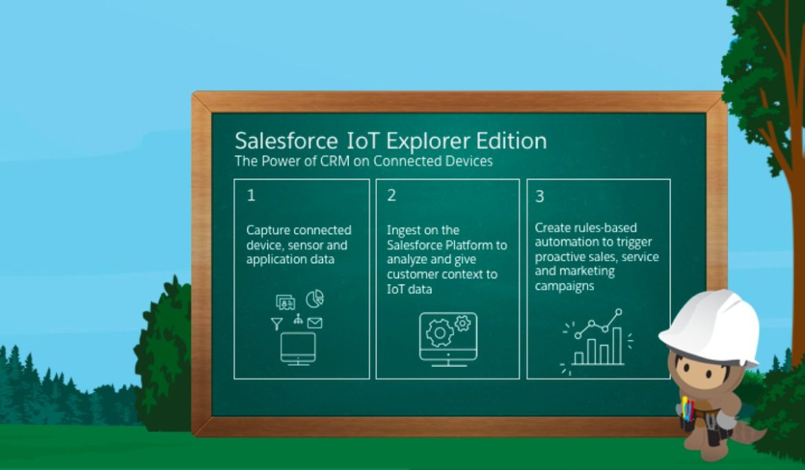 Starting today, the NEW Salesforce IoT Explorer Edition empowers anyone to harness IoT data.