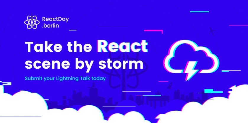 You still have a chance to join our speakers on stage:  #ReactJS