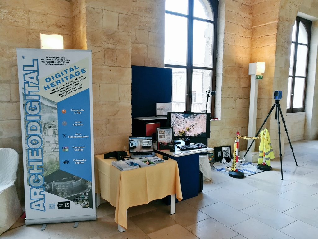 ArcheoDigital at MetroArchaeo 2017 conference