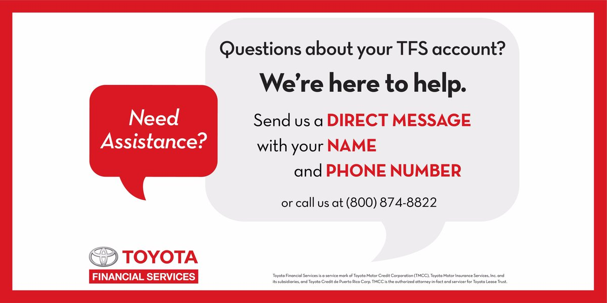 Toyota Financial On Twitter Let S Be Partners And Off The Road