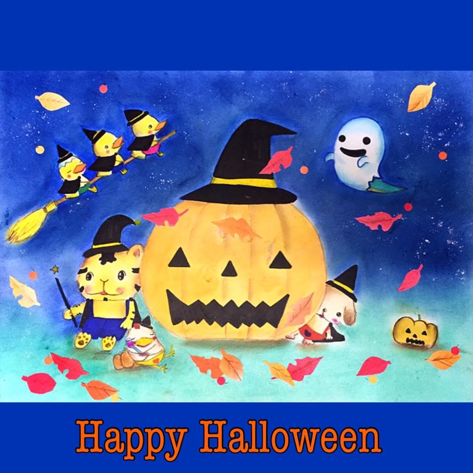test ツイッターメディア - ハロウィンの季節。 シンシン商事のみんなも仮装して仕事してます( ̄▽ ̄)。  魔法使いもいる、幽霊?もいる、よ、酔っ払いもいる🎵  みなさん、素敵なハロウィンを。  Happy Halloween! https://t.co/scOTG6r9Sz