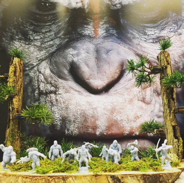 Resultado de imagen de Planet of the Apes: The Miniatures Board Game