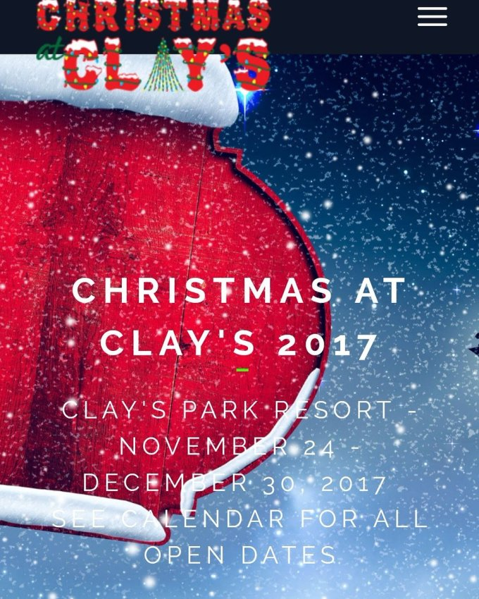 clays park resort on twitter make plans to check out christmas at