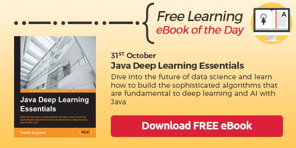 Free #Java #DeepLearning eBook   Only available for the next 20 hours   ?