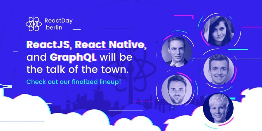 We've picked our Lightning Talks 🌩 and the full lineup is now officially finalized:  #ReactJS