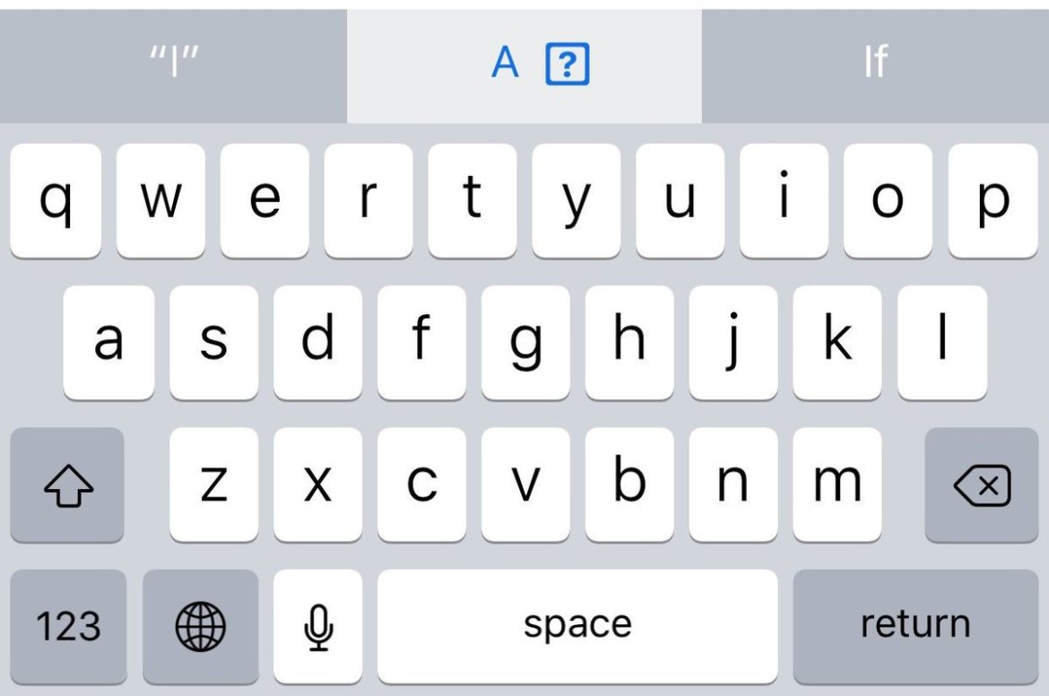 "Apple's embarrassing ""i → A [?]"" autocorrect bug could be a machine learning problem"
