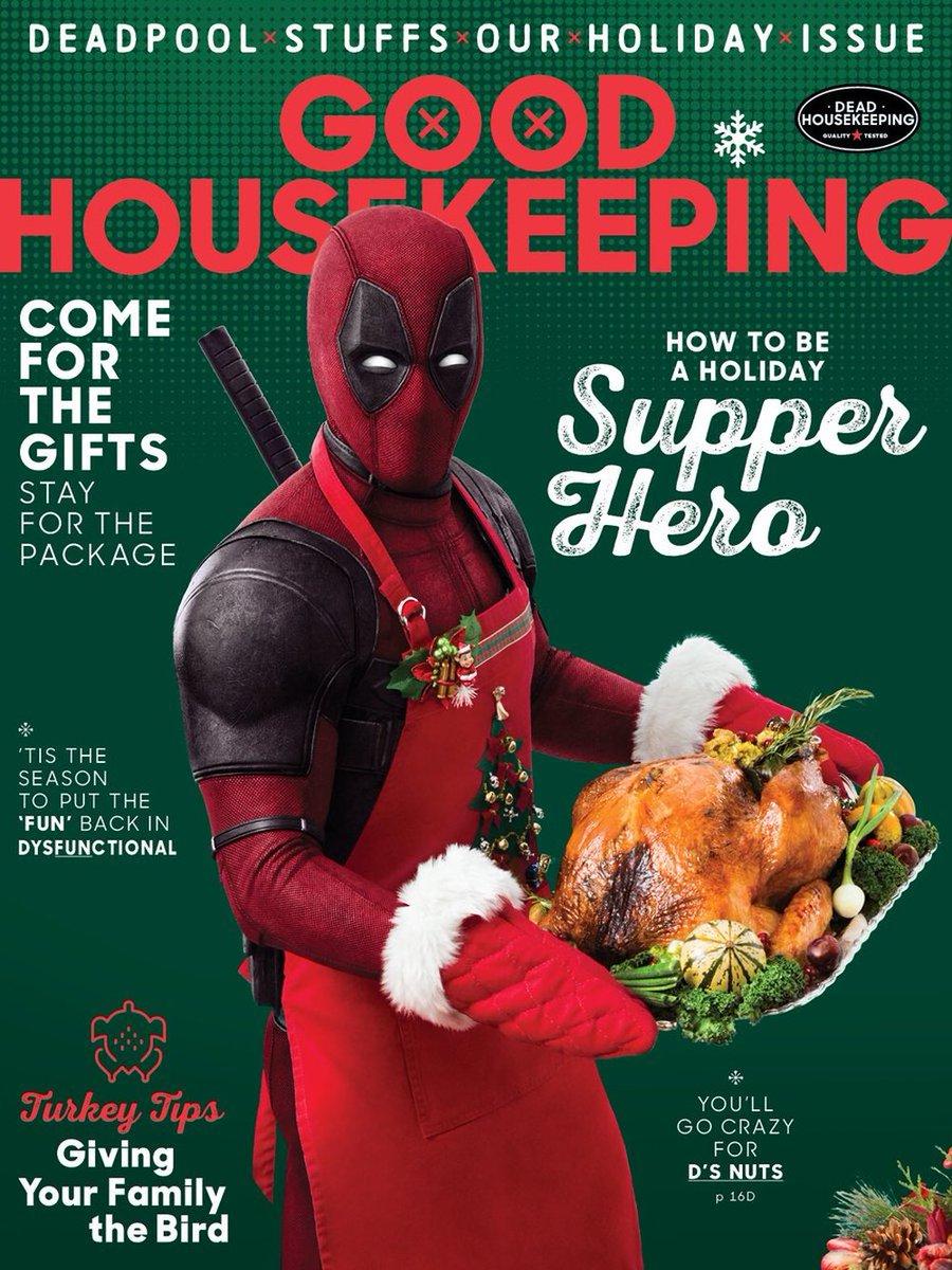 Deadpool Good Housekeeping Magazine