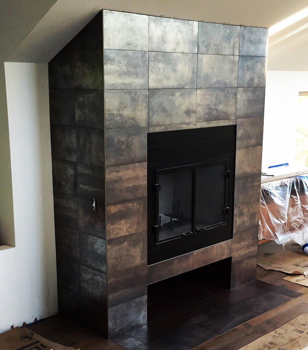 custom fireplace surround installation