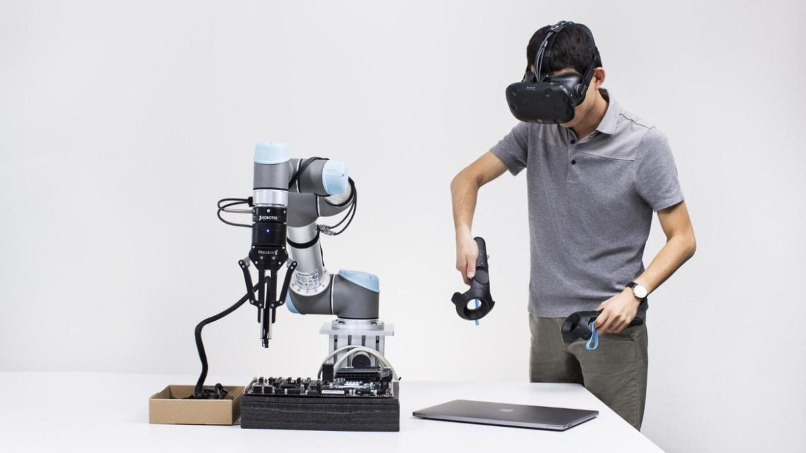 Cheap #VR headsets could drive the next industrial #robotic revolution  #Robotics