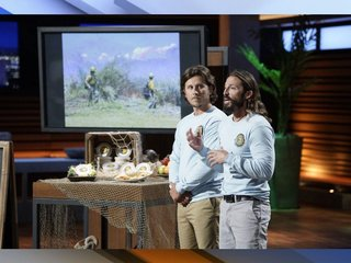Clearwater native, business partner win $75K deal with Mark Cuban on Shark Tank