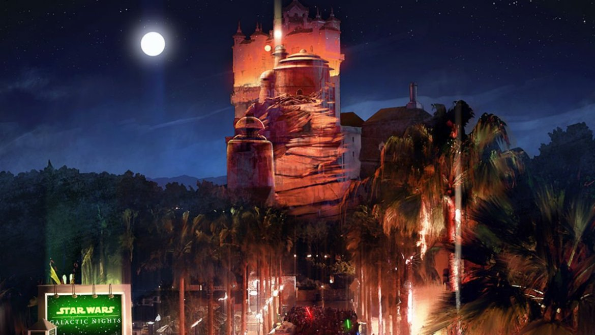 New projection show set for Disney's Star Wars: Galactic Nights
