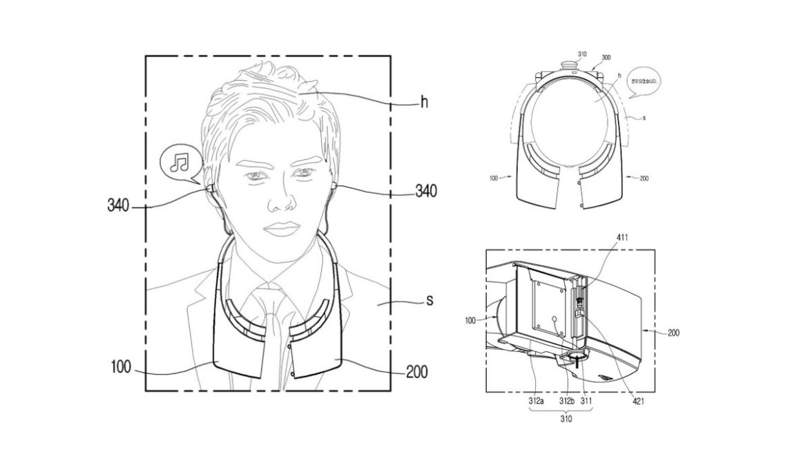 LG Patent Shows Unique Split Design for #VR Headset