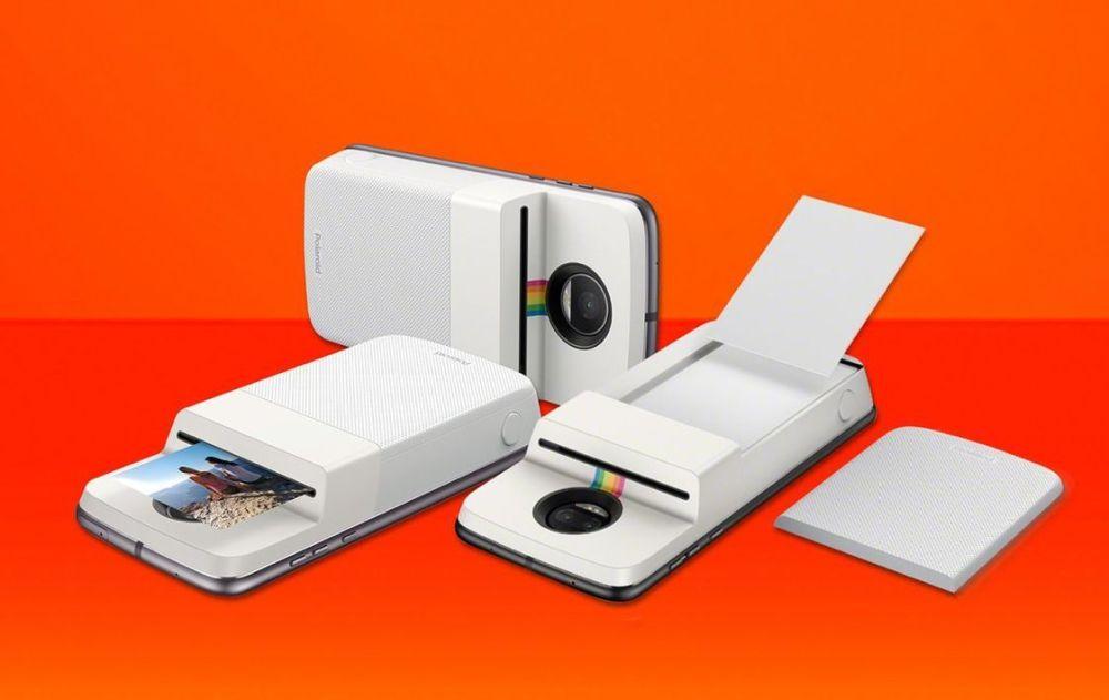 Moto Mod Polaroid Insta Share Printer