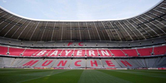 """Ο χρήστης FC Bayern Thailand στο Twitter: """"โฉมหน้าสแตนด์ในสนามอัล ..."""