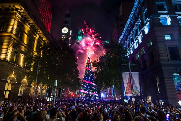 the lights of christmas whats on city of sydney - HD 1200×800