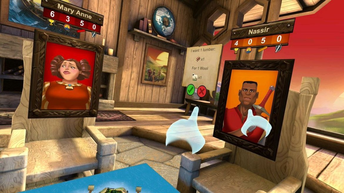 First Look: Settlers of Catan #VR
