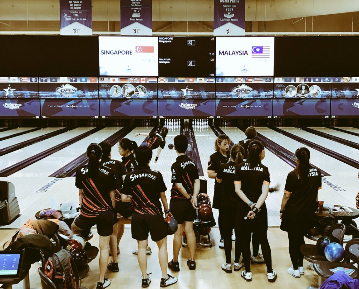 test Twitter Media - Ladies Team Gold Medal match- Malaysia vs Singapore best of 3 baker games gets the Gold.  #SquadRG strong representation on both sides!  #SquadRG #OwnIt  #WorldChampionships  #Vegas  #Malaysia  #Singapore https://t.co/GdwwfNLw0t
