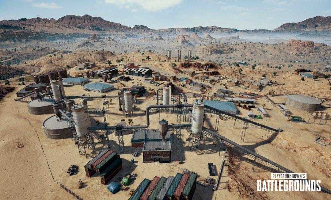 PlayerUnknown's Battlegrounds Miramar map