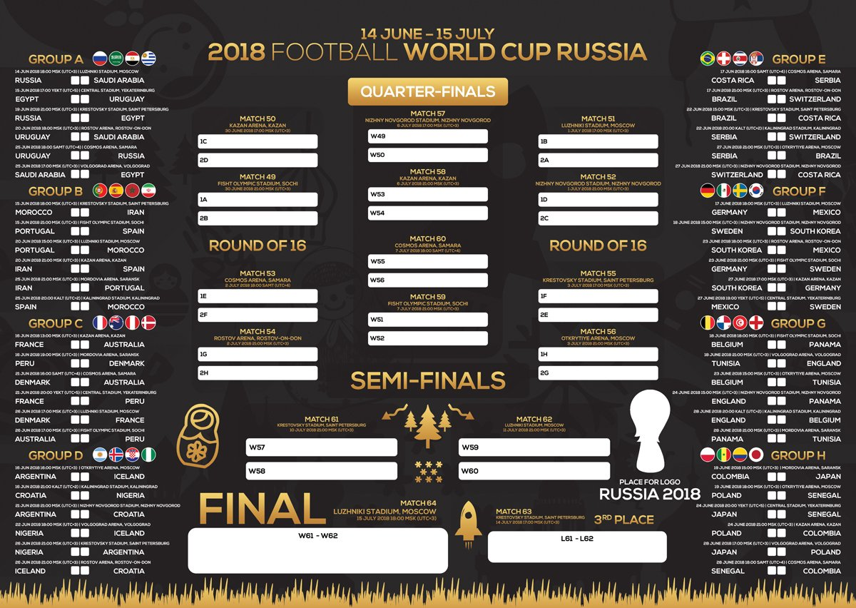 Russgfx On Twitter Russia World Cup Wall Chart Poster Psd Template Wallchart Russia