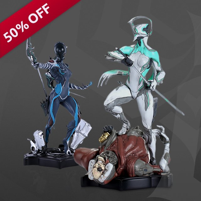 WARFRAME On Twitter Boxing Day Means Big Savings On Warframe Statues In The Merch Store Get