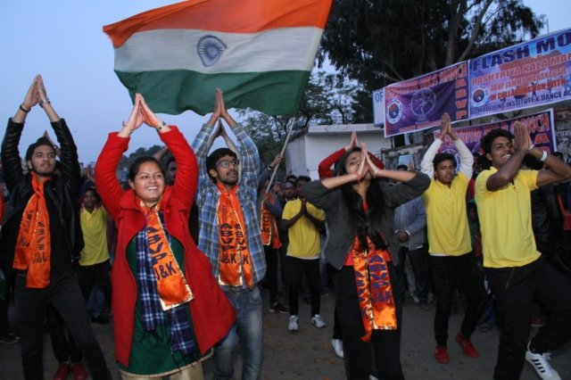 Image result for ABVP in kashmir
