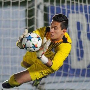 Gudiño jugó en la actual Champions