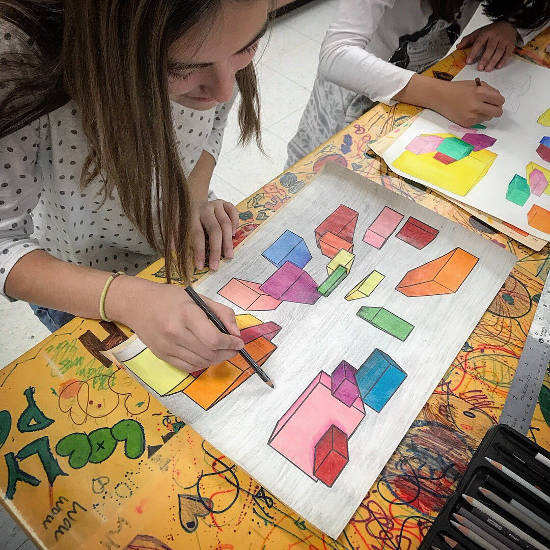 Drawing Art Projects For Middle School