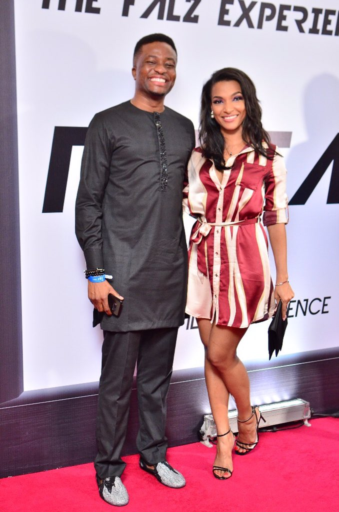 DRhYROBXUAEp90d Red Carpet Photos Of Celebrities At #TheFalzExperience In Lagos