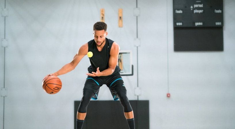 Stephen Curry Training